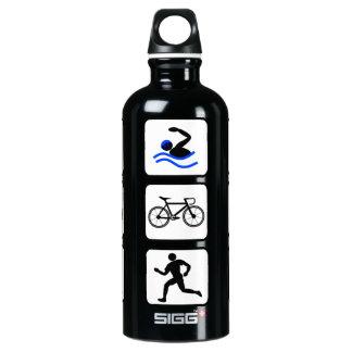 Triathlete Events Logo Water Bottle