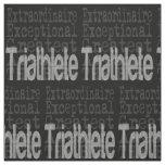 Triathlete Extraordinaire Fabric
