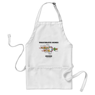 Triathlete Genes Inside (DNA Replication) Standard Apron