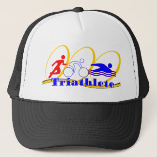 Triathlete - Run Bike Swim Trucker Hat