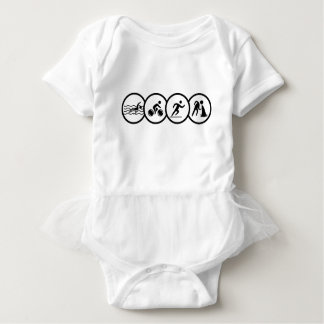 triathlon baby bodysuit
