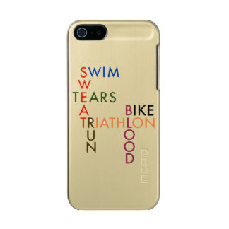 Triathlon blood sweat and tears incipio feather® shine iPhone 5 case