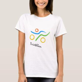 Triathlon cool and unique design T-Shirt