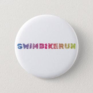 Triathlon Cool Design 2 Inch Round Button