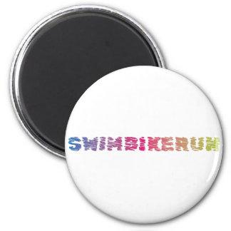 Triathlon cool design magnet