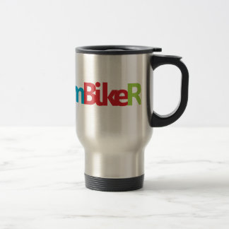 Triathlon cool logo for all sport lovers travel mug