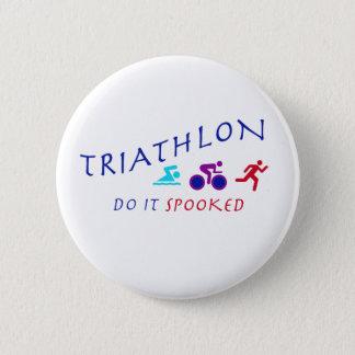 Triathlon, Do it Spooked 2 Inch Round Button