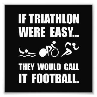 Triathlon Football Photo