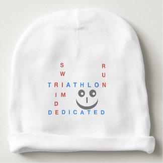 Triathlon I'm Dedicated Baby Beanie