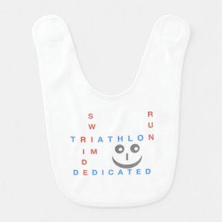 Triathlon I'm Dedicated Bib