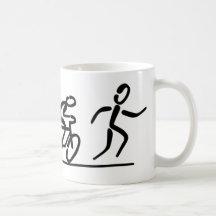 Triathlon Kaffee Haferl