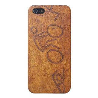 Triathlon Petroglyph iPhone 5 Covers