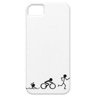 Triathlon Stick Figures iPhone 5 Case