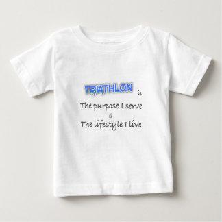 TRIATHLON - The purpose I serve Baby T-Shirt