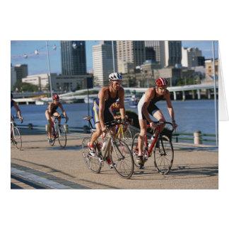 Triathloners Cycling Card