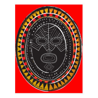 Tribal3 Postcard