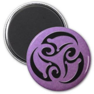 Tribal3Goddess - Purple Magnet