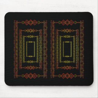 Tribal abstract. mouse pad