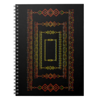Tribal abstract. notebooks