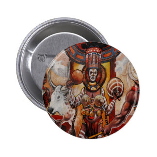 Tribal Affair Pinback Button
