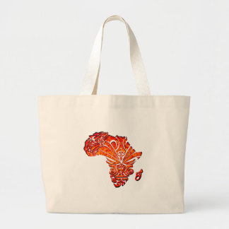Tribal Africa Large Tote Bag