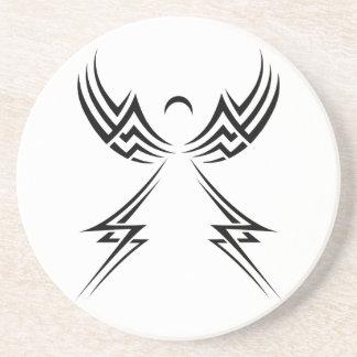 Tribal Angel custom coaster