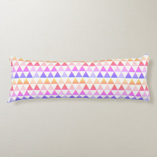 Tribal Arrow Rainbow Prism Geometric Body Pillow