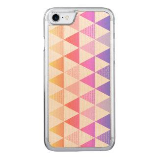 Tribal Arrow Rainbow Prism Geometric Carved iPhone 8/7 Case