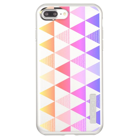 Tribal Arrow Rainbow Prism Geometric Incipio DualPro Shine iPhone 8 Plus/7 Plus Case