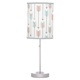 Tribal Arrows Pattern Table Lamp