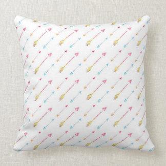 Tribal Arrows Throw Pillow