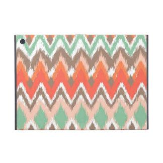 Tribal aztec chevron zig zag stripes ikat pattern case for iPad mini