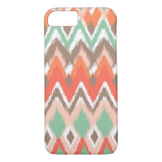 Tribal aztec chevron zig zag stripes ikat pattern Case-Mate iPhone case