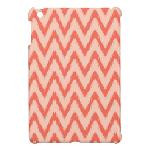 Tribal aztec chevron zig zag stripes ikat pattern iPad mini case