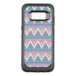 Tribal aztec colorful pattern OtterBox commuter samsung galaxy s8 case