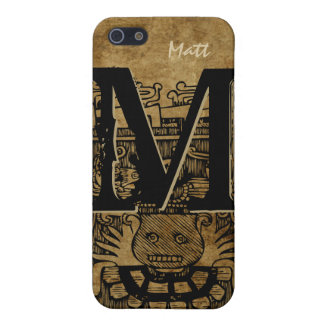 Tribal Aztec Monogram Personalized iPhone 5 Case