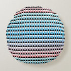 Tribal Aztec Ombre Pattern Round Pillow
