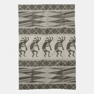 Tribal Aztec Pattern Kokopelli Southwest Kitchen Towel