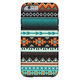 Tribal Aztec Pattern Tough iPhone 6 Case