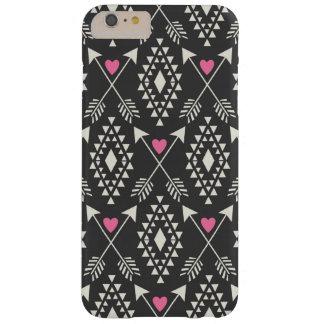 Tribal Aztec w/ Hearts & Arrows iPhone 6 Plus Case
