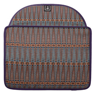 Tribal Basket Weave Laptop Computer Sleeve MacBook Pro Sleeves