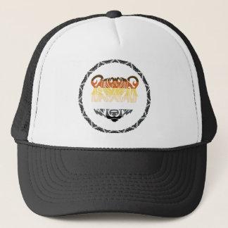 tribal bear trucker hat