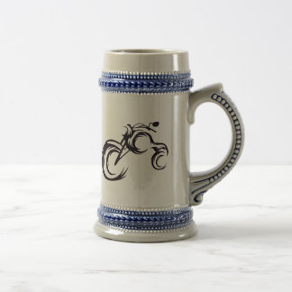 Tribal Bike Beer Stein