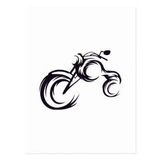 Tribal Bike Postcard
