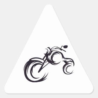 Tribal Bike Triangle Sticker