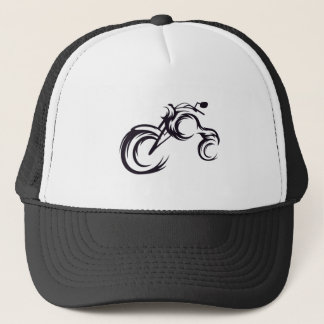 Tribal Bike Trucker Hat