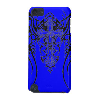 Tribal bleu coque iPod touch 5G