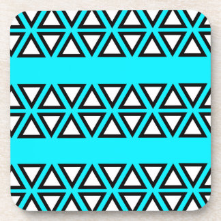 Tribal BlueGreen Coaster