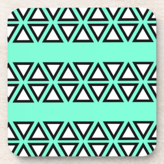 Tribal BlueGreen Coaster
