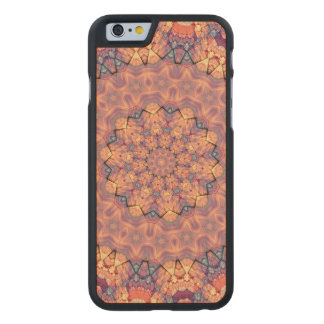 TRIBAL BOHEMIAN KALEIDOSCOPIC GEOMETRIC MANDALA CARVED® MAPLE iPhone 6 SLIM CASE